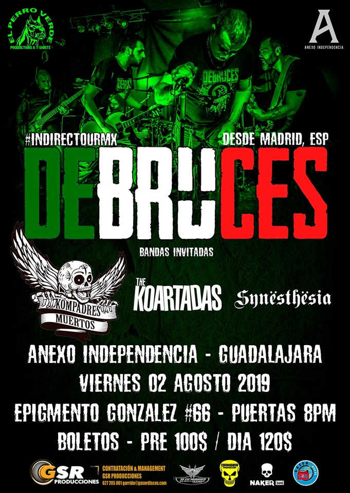 Debruces #IndirectourMX – Guadalajara