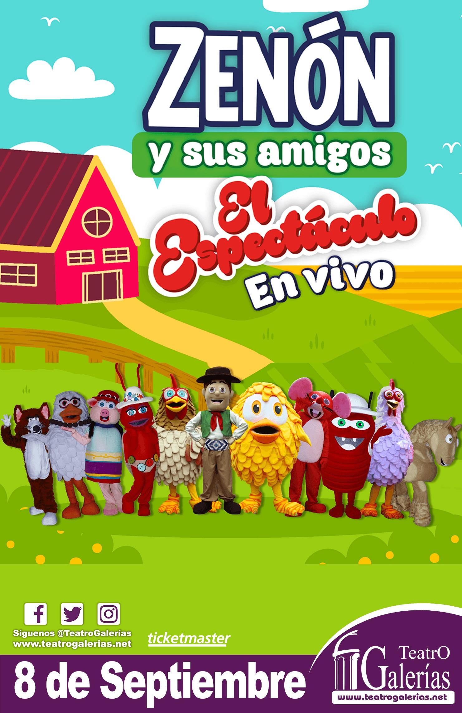 #CORTESÍAS #DateAlaFuga / Zenón y sus amigos