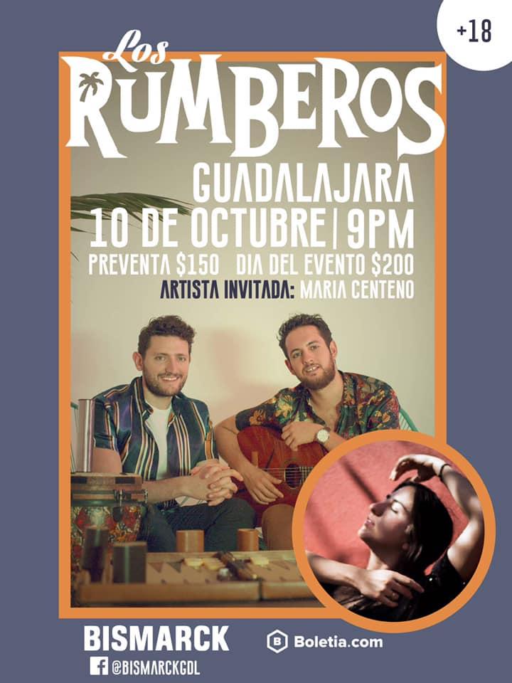 Los Rumberos en Guadalajara