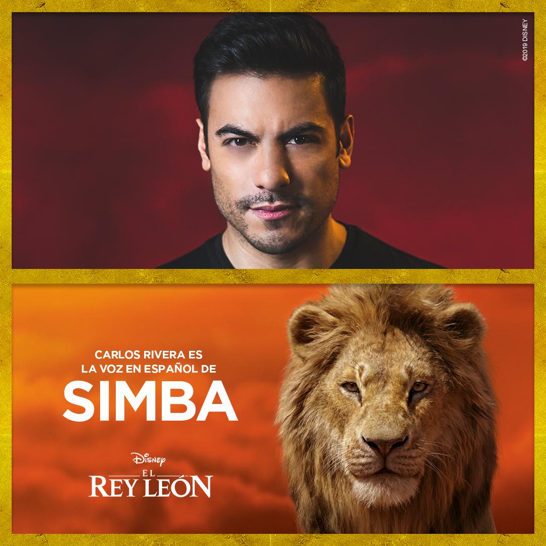 Disney anunció el elenco de doblaje de la versión en español para Latinoamérica de El Rey León