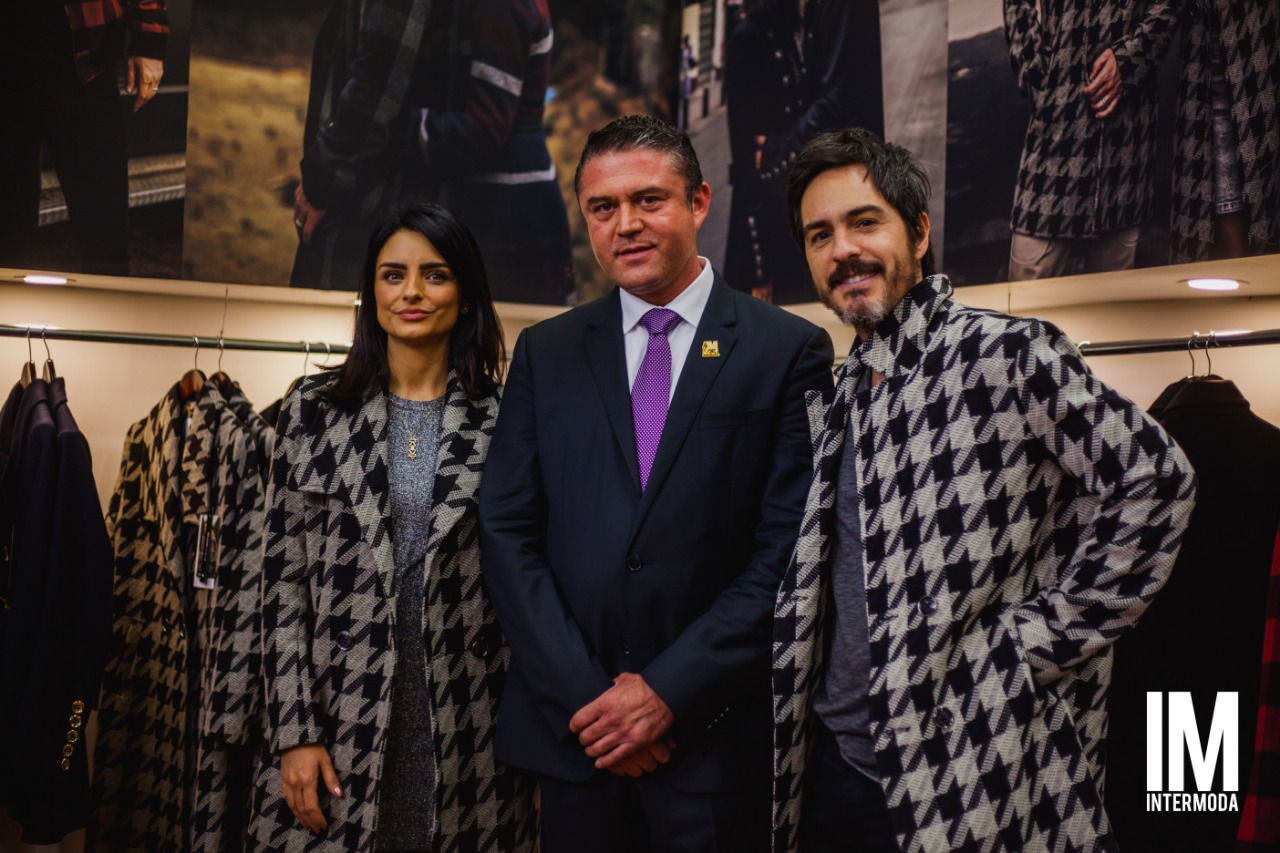 Aislin y Mauricio en Intermoda 2019