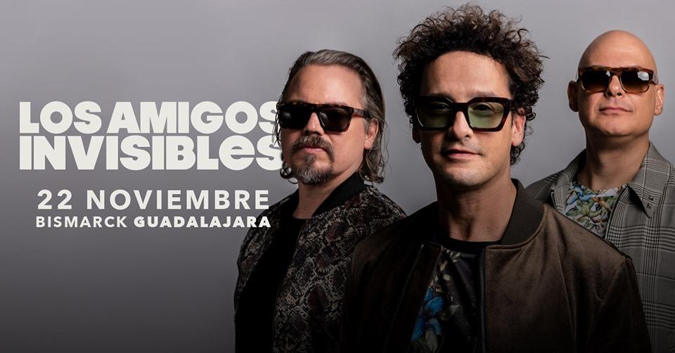 Los Amigos Invisibles en Guadalajara