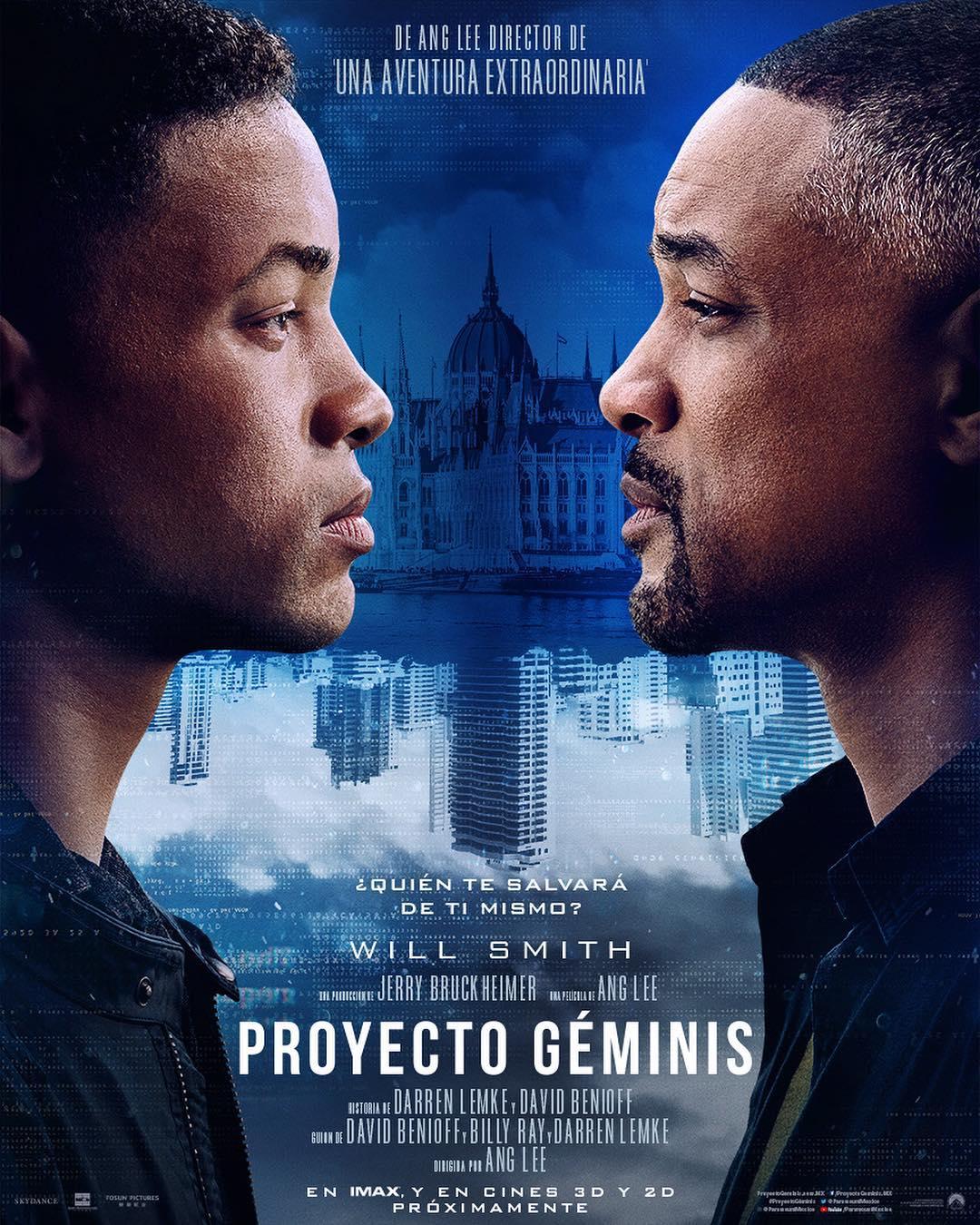 Proyecto Géminis se estrena en cines el 11 octubre, 2019