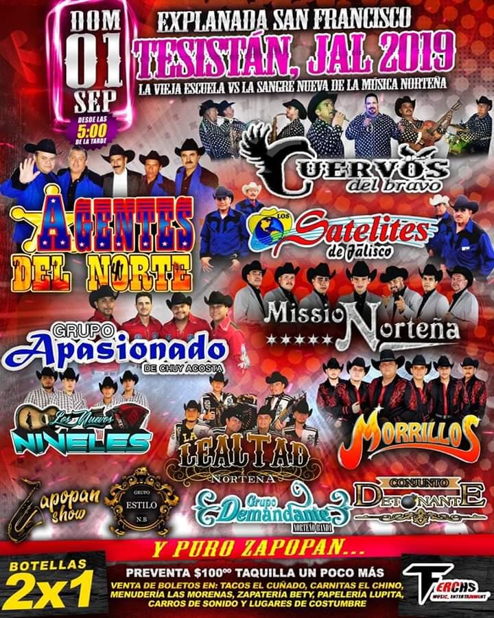 Tesistan Jalisco 2019