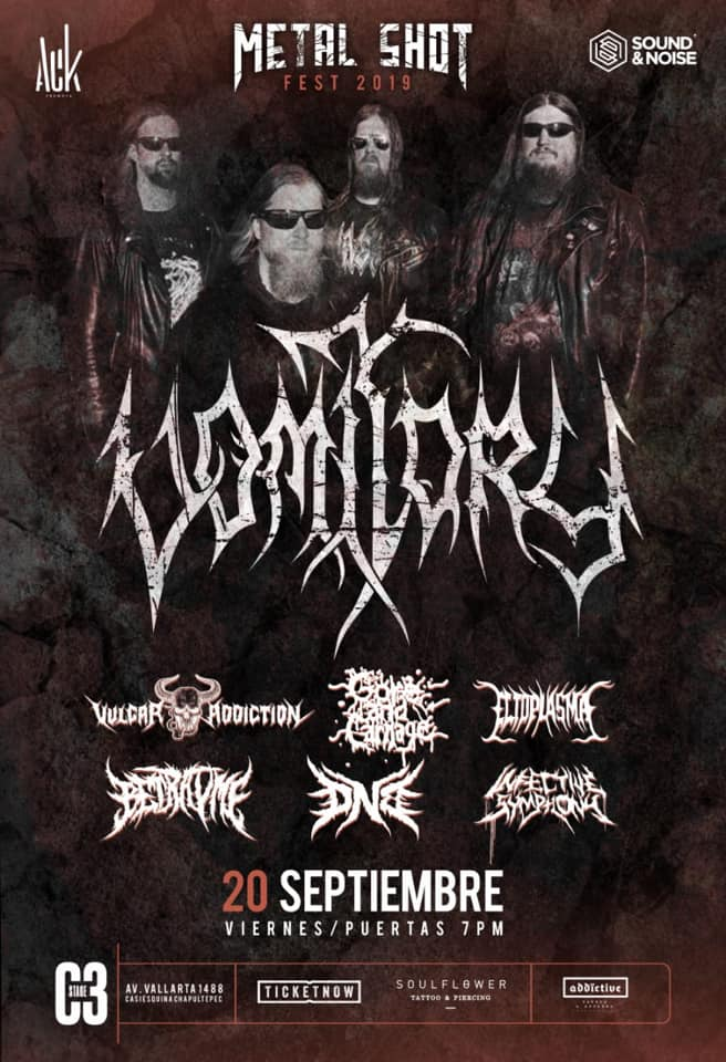 Metal Shot Fest con Vomitory