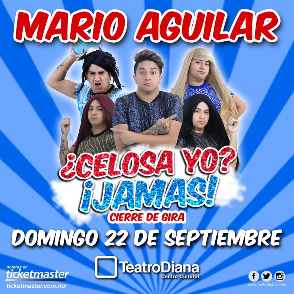 #CORTESÍAS #DateAlaFuga / Mario Aguilar ¿Celosa yo? ¡Jamas!