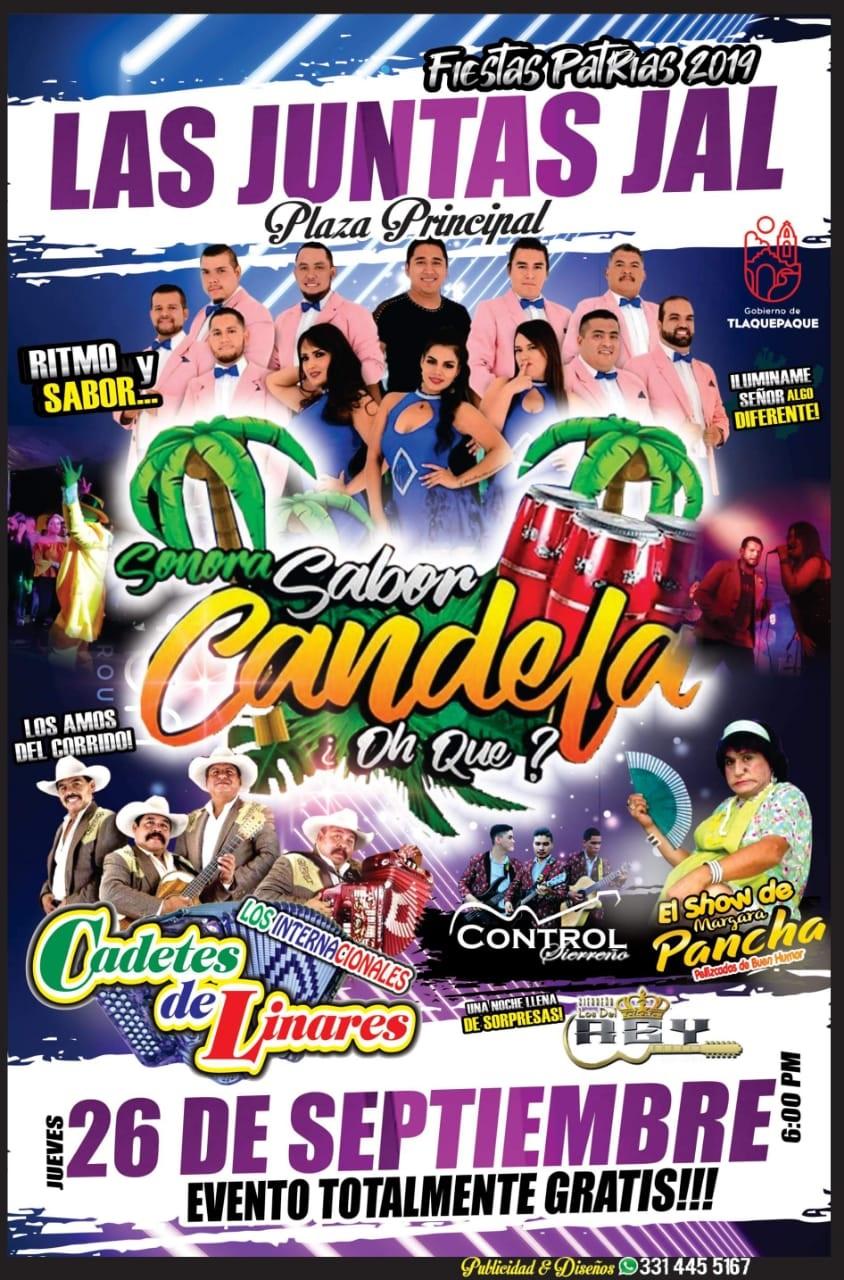 Fiestas Patrias en Las Juntas 2019