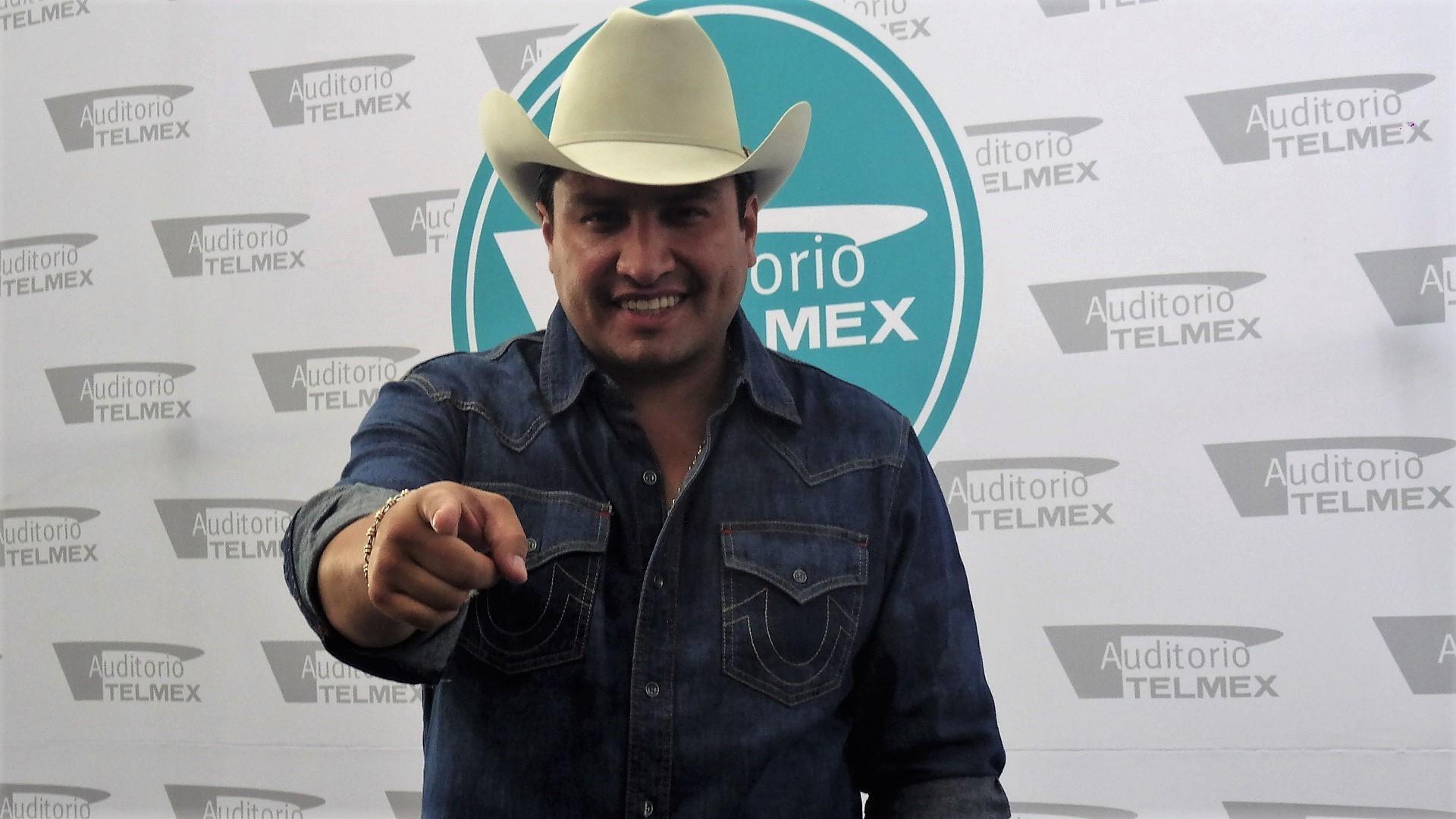 Julión Álvarez agradecido de volver a presentarse en Guadalajara