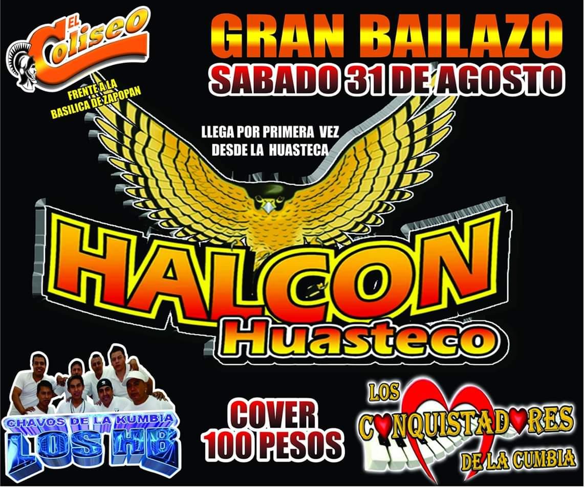 Halcón Huasteco en El Coliseo Bar