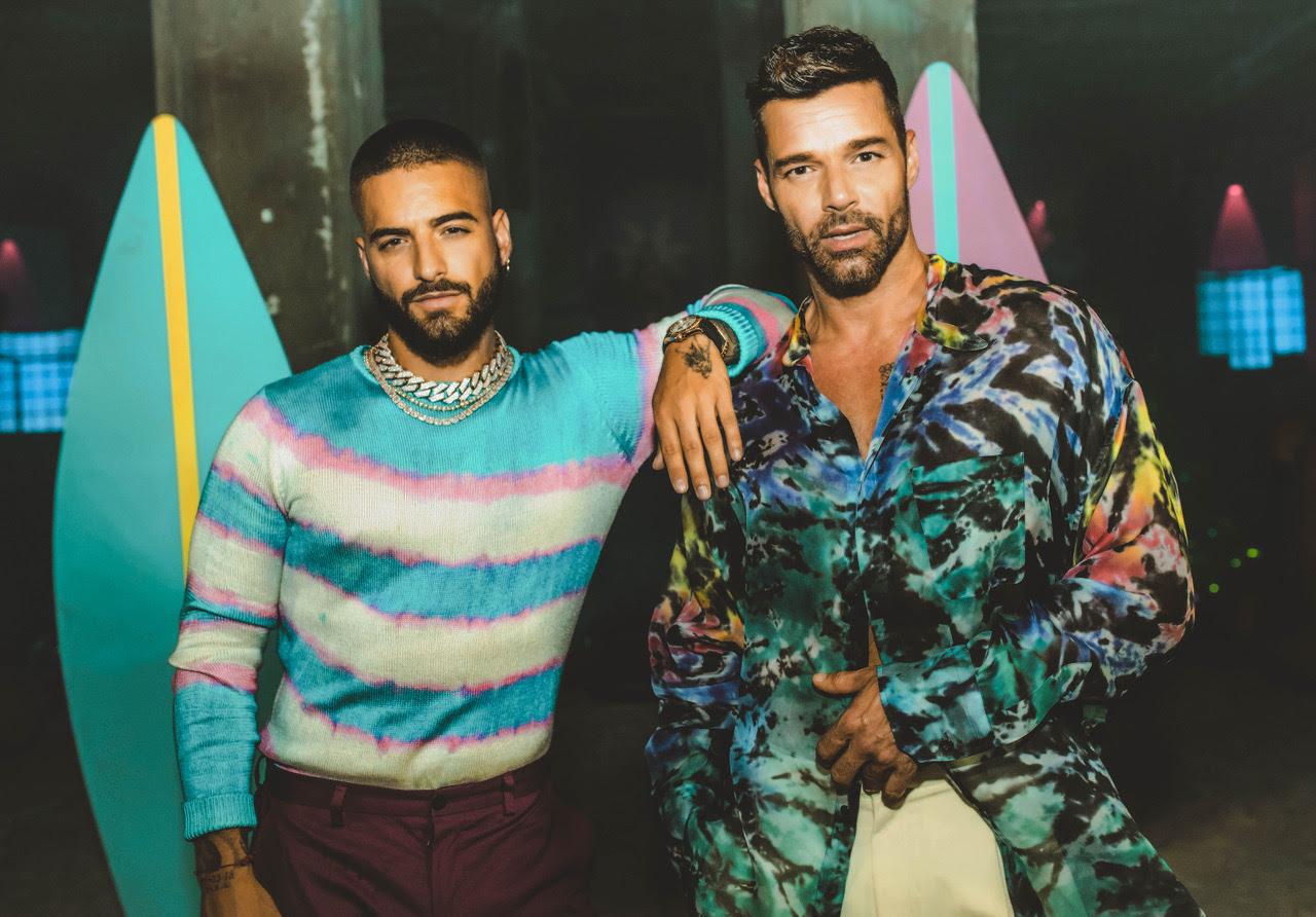 Maluma lanza el video de «No se me quita» feat. Ricky Martin*