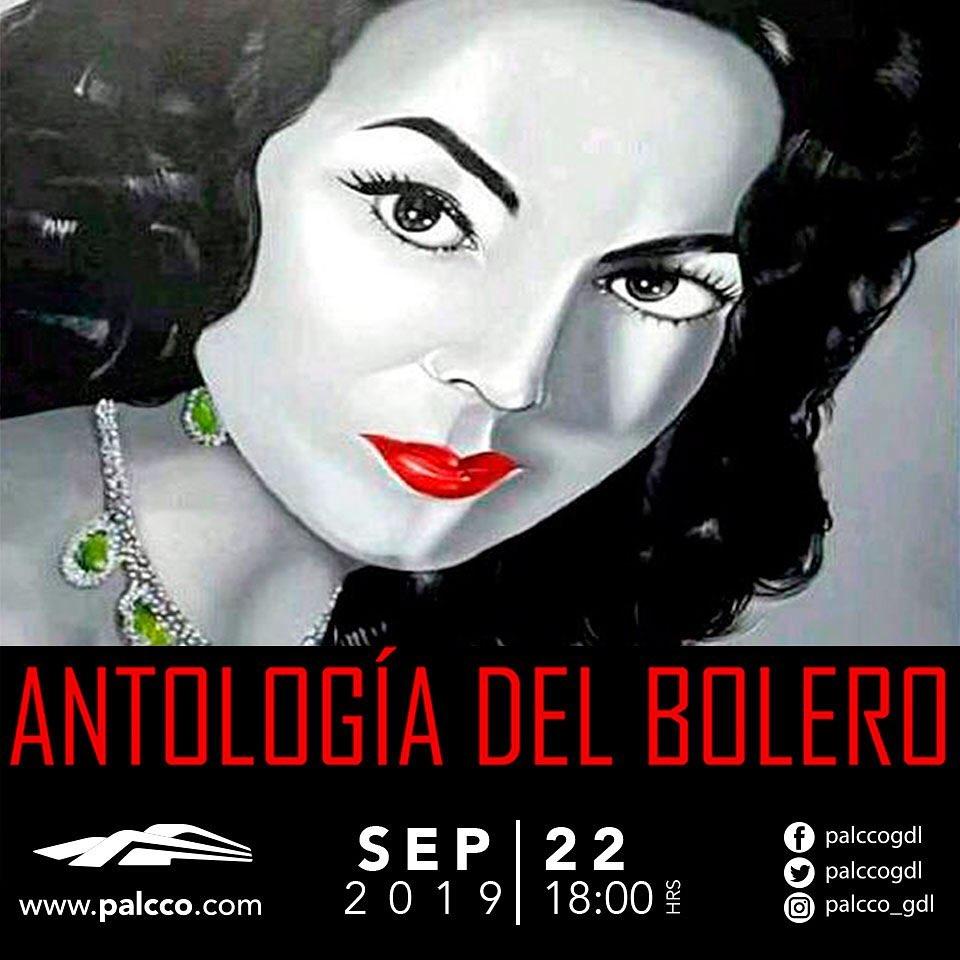 #CORTESÍAS #DateAlaFuga / Antología del Bolero