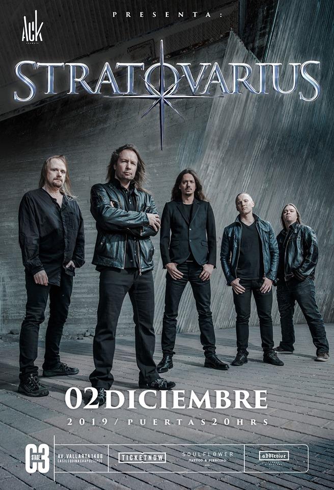 Stratovarius en Guadalajara
