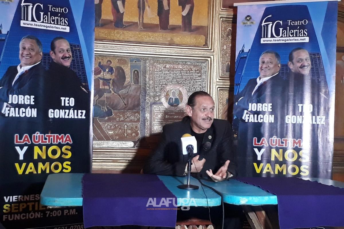 La excelencia en comedia presente en Guadalajara con Teo González y Jorge Falcón en el Teatro Galerías el próximo 27 y 28 de septiembre.