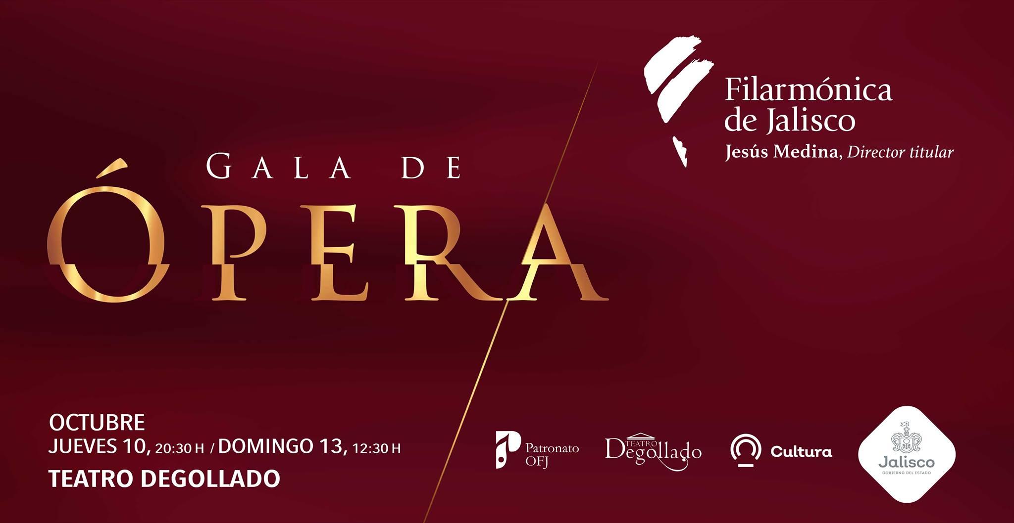 """Ofrecerá """"Gala de Ópera"""" la Orquesta Filarmónica de Jalisco"""