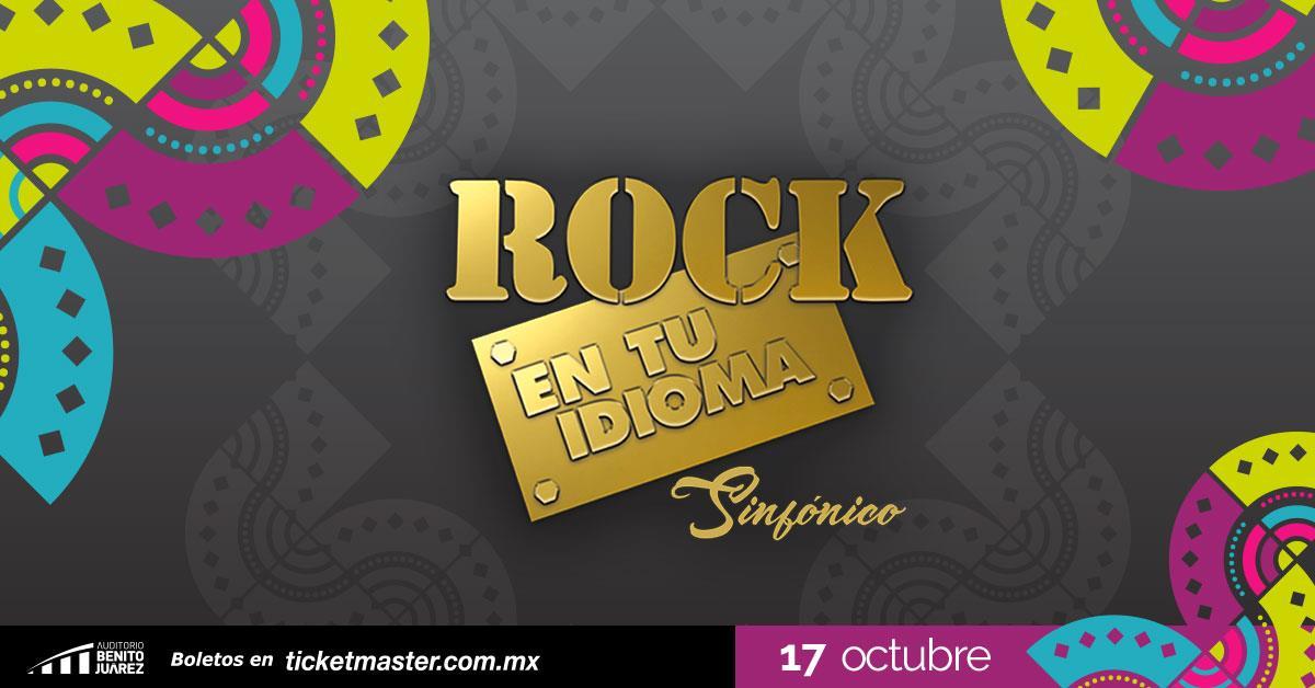 Rock en tu Idioma Sinfónico en Fiestas de Octubre