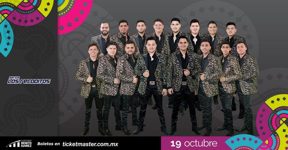 Banda Los Recoditos en Fiestas de Octubre