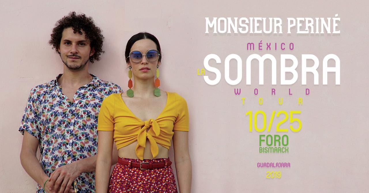 Monsieur Periné llega a Guadalajara con «La Sombra World Tour»