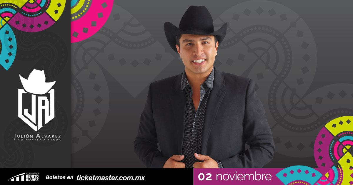 Julión Álvarez en Fiestas de Octubre
