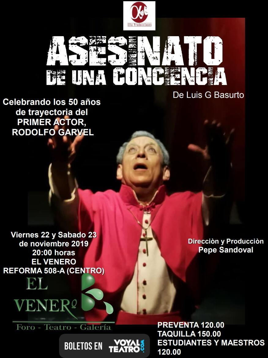 Asesinato de una conciencia de Luis G Basurto