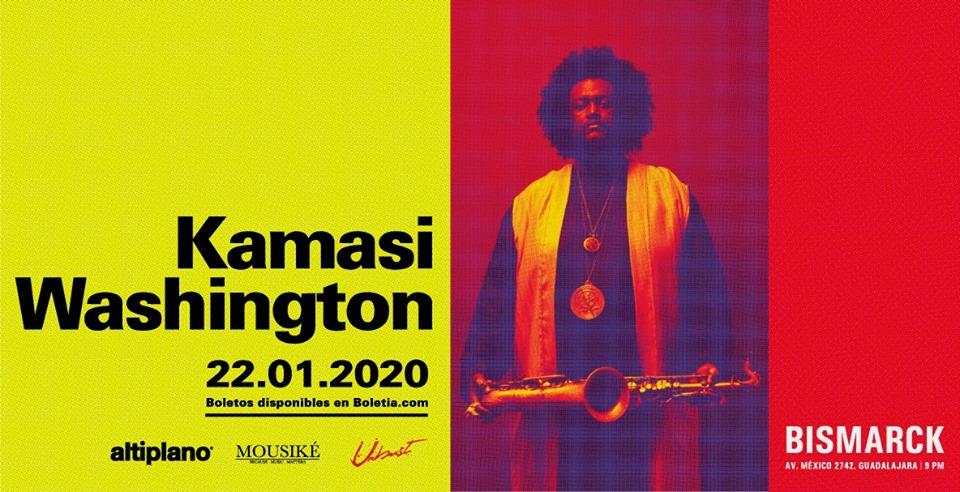Kamasi Washington en Guadalajara