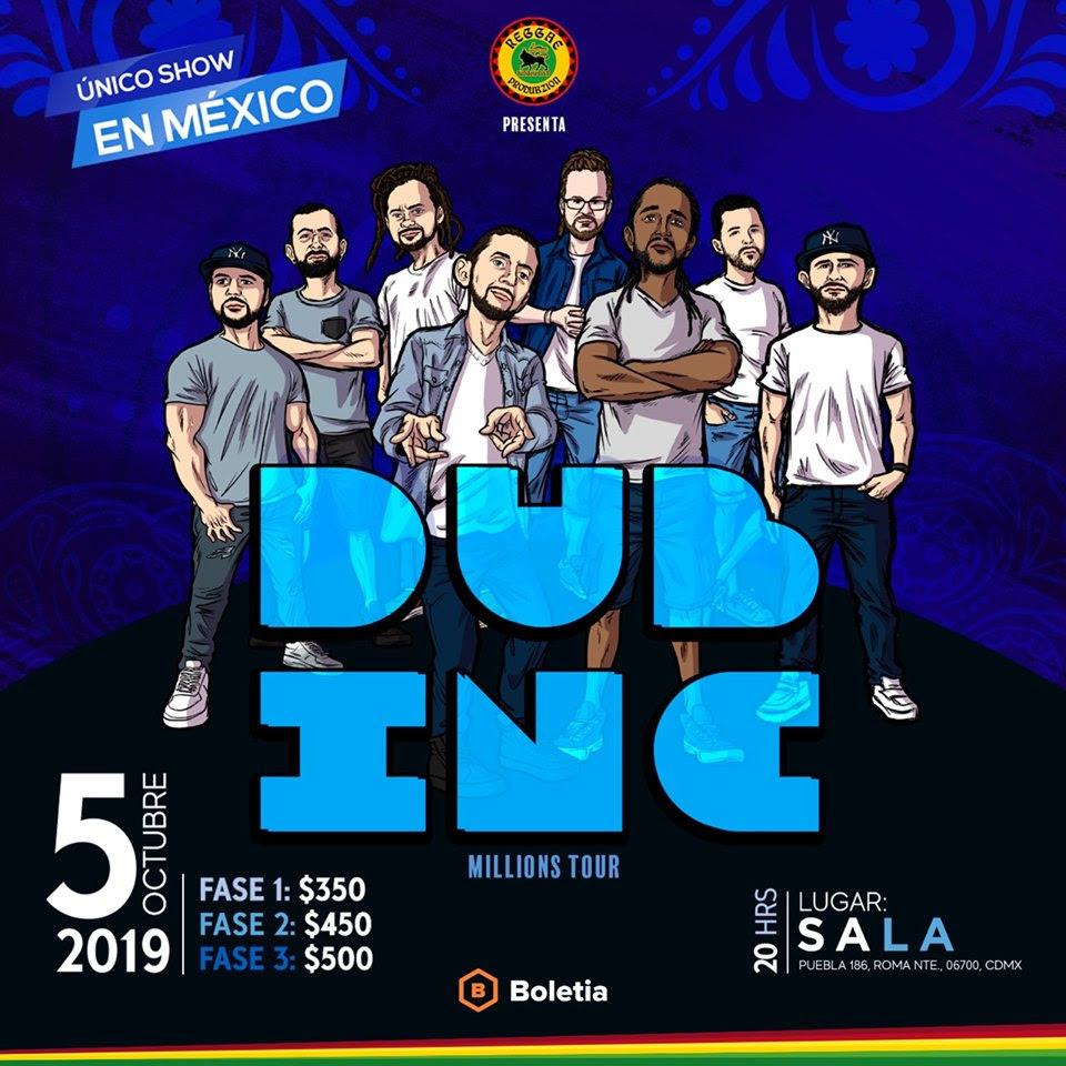 DUB INC trasciende fronteras con Millions, álbum que presentará en SALA PUEBLA este 5 de octubre en México
