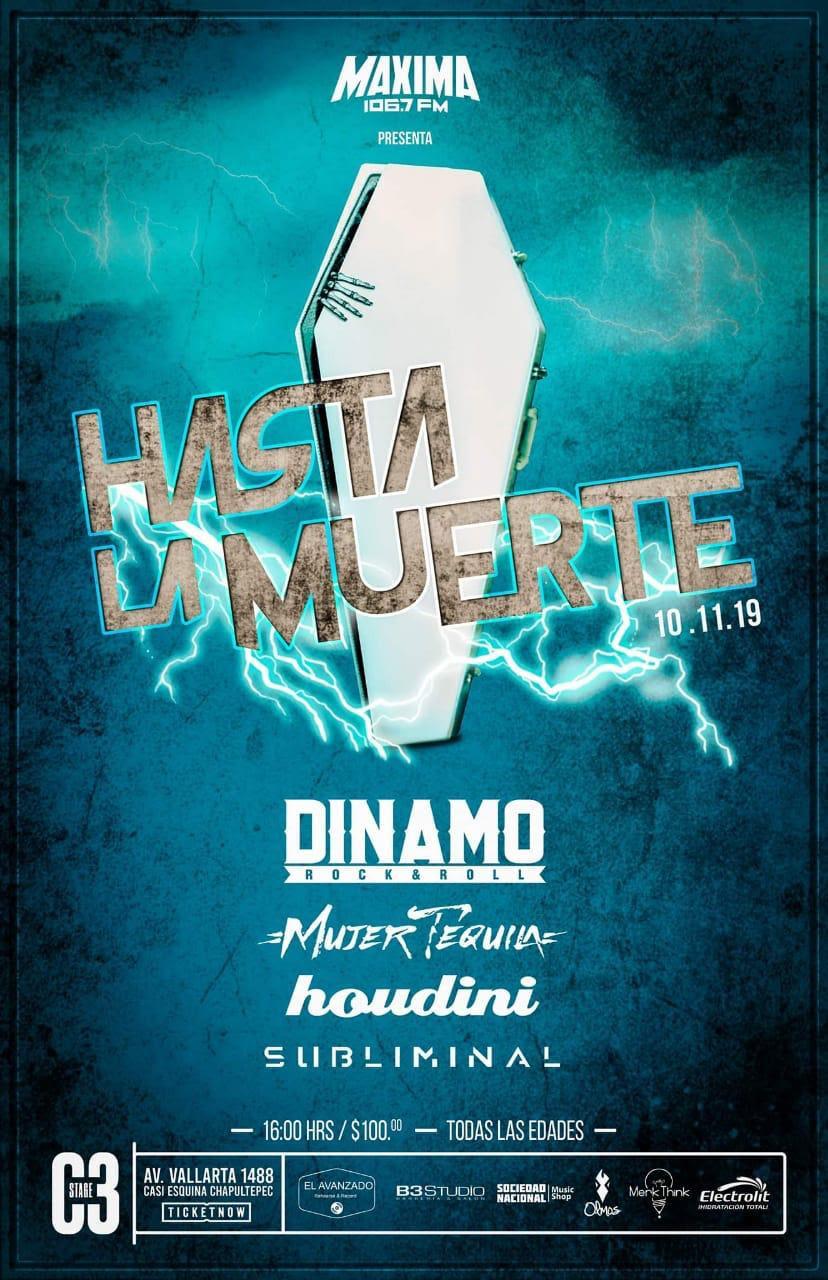 Dinamo presenta su show «Hasta la muerte»
