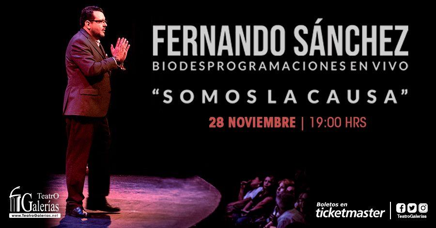 Fernando Sánchez «Somos la Causa»