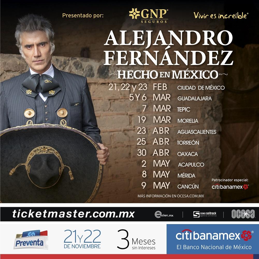 Alejandro Fernández presenta: Hecho en México