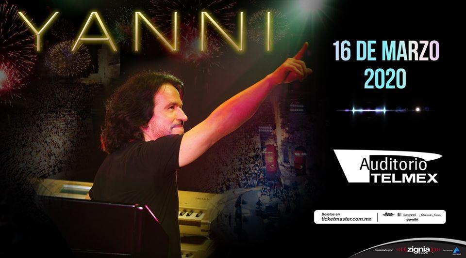 Yanni en concierto