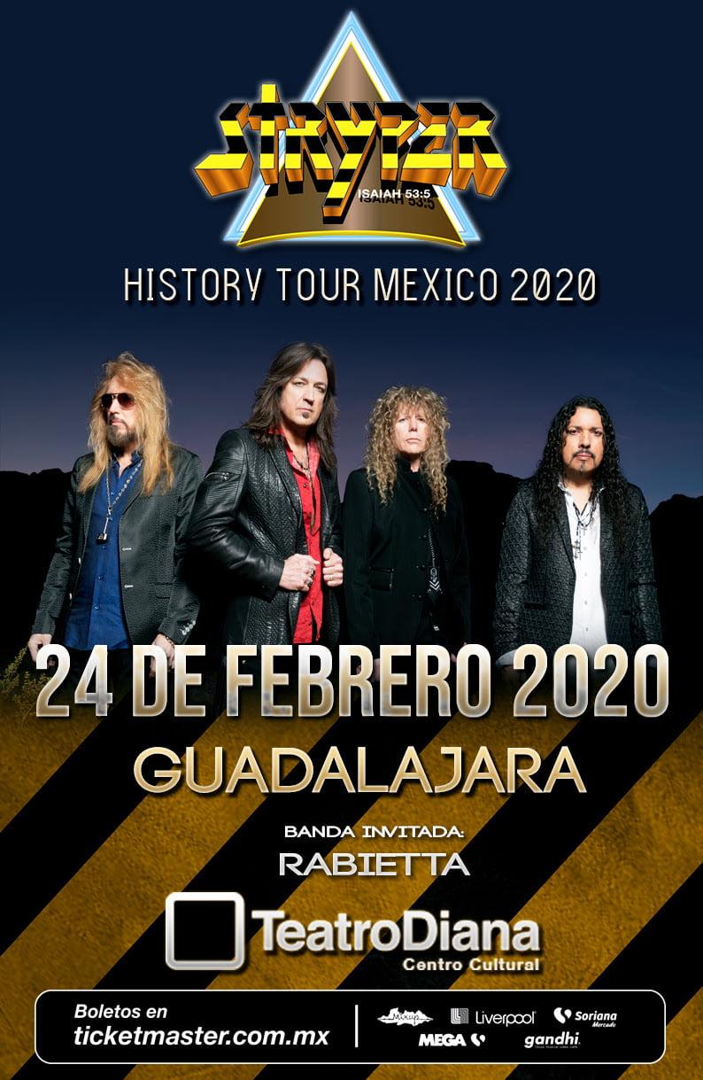 """¡Los milagros existen! STRYPER EN GUADALAJARA """"HISTORY TOUR"""""""