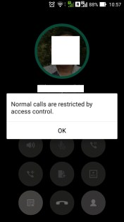 normal calls are restricted by access control