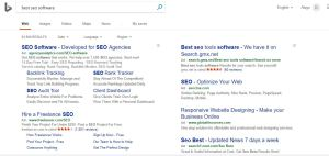 sponsored results on serp