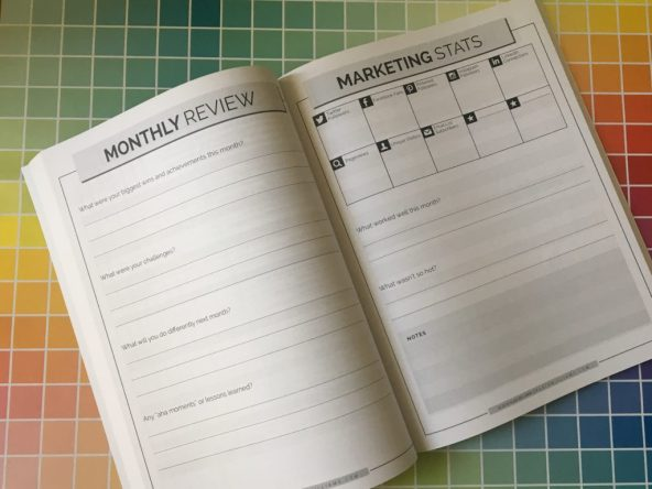 the next 12 months planner montly review