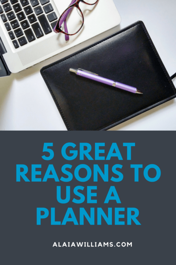 5 great reasons to use a planner