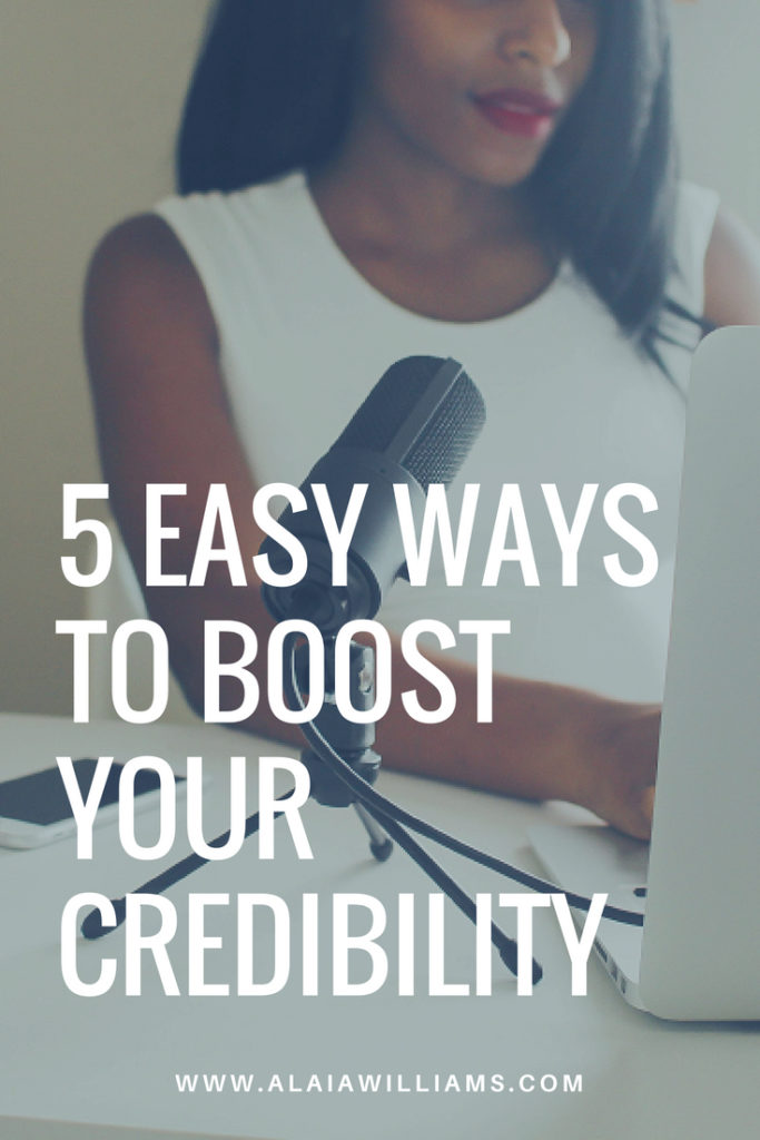 5 easy ways to boost as your credibility as a coach, consultant or small business owner