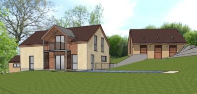 1-Projet d'habitation et boxes chevaux