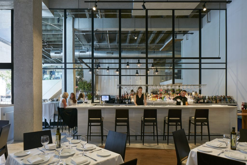 Restaurant Milos  New York  Alain Carle Architecte