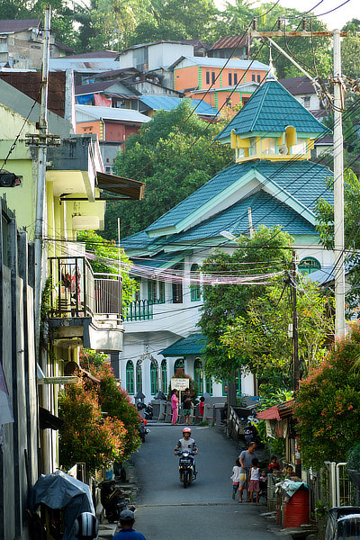 Ambon,Indonésie,Moluques,rue