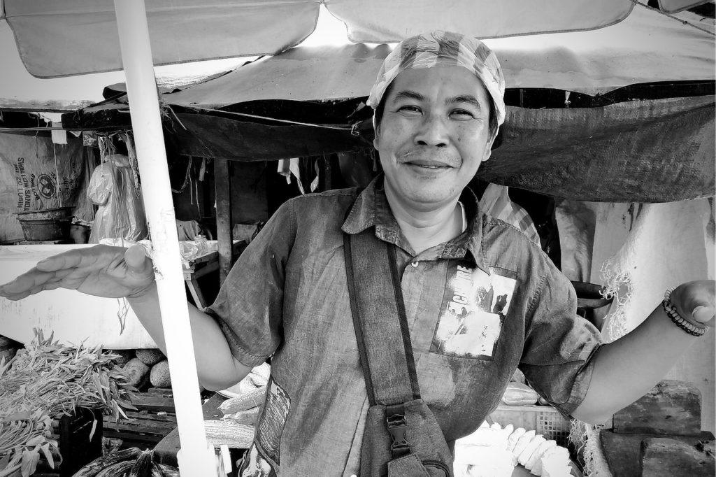 Ambon,Indonésie,Moluques,marché