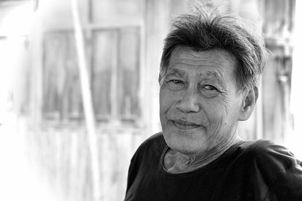 Un habitant de Ko Klang