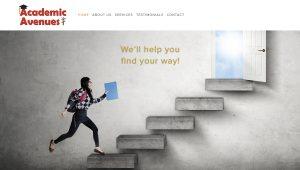Academic Avenues Website