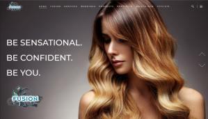 Fusion Salon Website