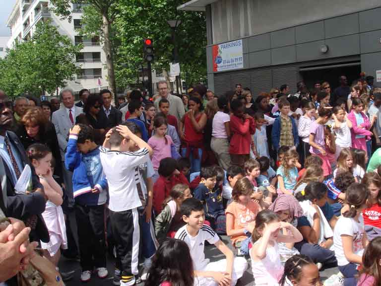 Enfants de l'école Gerty Archimède (12è arrondissement de Paris)