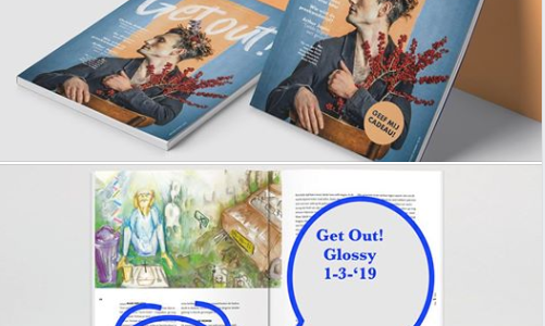 In een glossy: Get Out!