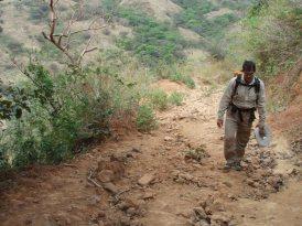 Subiendo hacia Cerro Golondrina