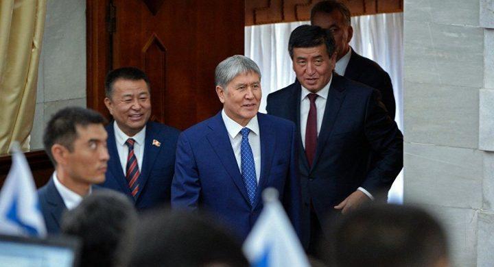 Бүгүн Чыныбай Турсунбеков кызматын тапшырат. 17-спикерлүү болобуз!