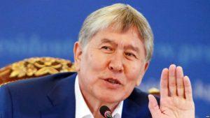 """Атамбаев Жээнбековго жашаган жерин, иш бөлмөсүн """"араң"""" бошотуп берди"""