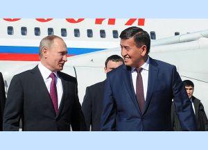 Жээнбеков Путин менен жолугушууну Бишкекте эмес, Дүйшөмбүдө өткөрөт. Эмнеге?