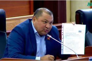 """Кожобек РЫСПАЕВ: """"Кыргыздарды басынтканга жол бербеш керек! ТИМ Малаховго чара көрүүсү зарыл!"""""""