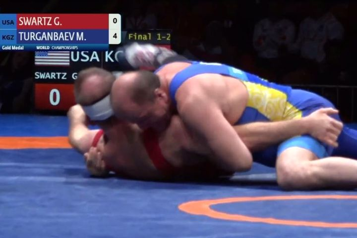 Мурдагы министр, азыркы төрага Мелис Турганбаев дүйнө чемпиону болду